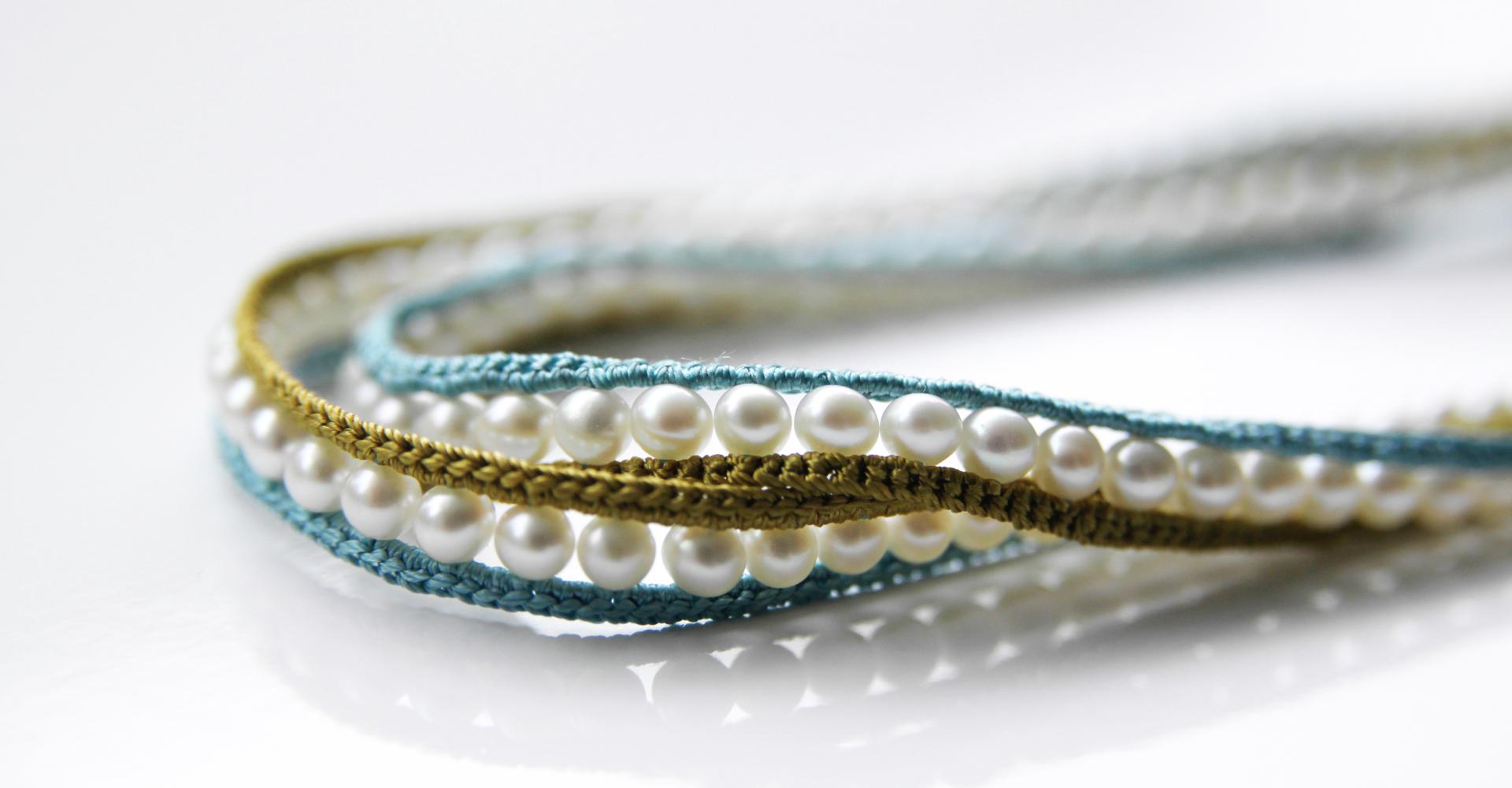 Einreihige Perlenkette
